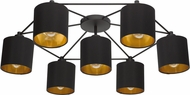 EGLO 97895A Staiti Contemporary Black Ceiling Light Fixture
