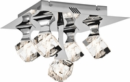 Elan 83129 Rockne Chrome Halogen Ceiling Lighting