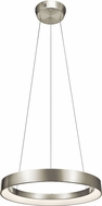Elan 83261 Fornello Contemporary Brushed Nickel LED 24  Pendant Lighting Fixture