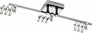 Elan 83384 Velse Modern Chrome LED Home Track Lighting