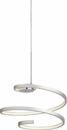 Elan 83575 Tintori Contemporary Chrome / Oxidised Silver LED Hanging Light Fixture