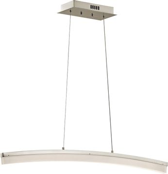 Elan 83672 Valencia Modern Brushed Nickel LED Kitchen Island Lighting