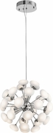 Elan 83694 Kotton Modern Chrome LED Drop Lighting