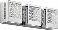 Elan 83726 Pandora Contemporary Chrome LED 17.5  Bath Sconce