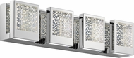 Elan 83727 Pandora Modern Chrome LED 24  Vanity Light Fixture