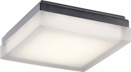 Elan 83800 Arston Modern Bronze LED 9  Flush Mount Lighting Fixture