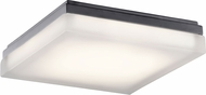 Elan 83802 Arston Modern Bronze LED 12  Flush Mount Ceiling Light Fixture