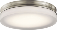 Elan 83803 Rylee Contemporary Brushed Nickel LED 11  Home Ceiling Lighting