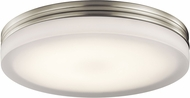 Elan 83805 Rylee Contemporary Brushed Nickel LED 14  Overhead Lighting Fixture