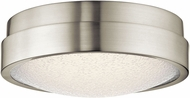 Elan 83812 Piazza Modern Brushed Nickel LED Ceiling Light
