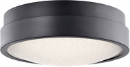 Elan 83813 Piazza Contemporary Bronze LED Ceiling Light Fixture
