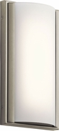 Elan 83816 Bretto Modern Brushed Nickel LED Wall Light Sconce