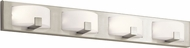 Elan 83893 Bethwin Contemporary Brushed Nickel LED 36  Bathroom Lighting Sconce