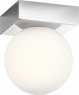 Elan 83977-83982 Mates Modern Chrome LED Flush Lighting