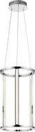 Elan 84037 Mira Modern Chrome LED Foyer Lighting