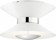 Elan 84132MWH Kordan Modern Matte White LED Home Ceiling Lighting