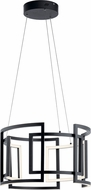 Elan 84133 Melko Modern Black LED 23.5  Hanging Light