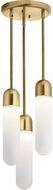Elan 84195 Sorno Contemporary Champagne Gold LED Multi Hanging Light