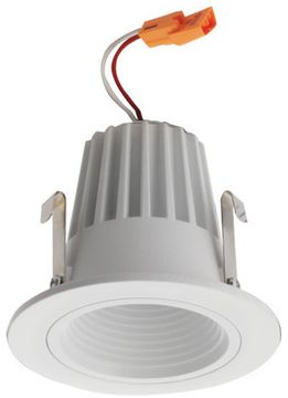 Elco E214C07 Alder Standard Modern White LED 2  Round Baffle Light Engines