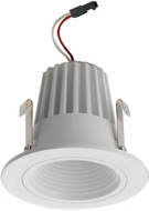 Elco E214C18 Alder High Tech Contemporary White LED 2  Round Baffle Light Engines