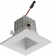 Elco E215C18 Alder High Tech Modern White LED 2  Square Baffle Light Engines