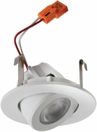 Elco E218C06 Alder Standard Contemporary White LED 2  Round Adjustable Light Engines
