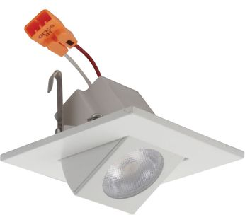 Elco E219C07 Alder Standard Modern White LED 2  Square Adjustable Light Engines