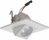 Elco E219C18 Alder High Tech Contemporary White LED 2  Square Adjustable Light Engines