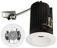 Elco E2L10FXXC Teak System Contemporary Chrome / White LED 2 Inch Recessed Lighting Round Reflector