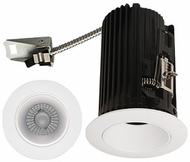 Elco E2L10FXXH Teak System Modern Haze / White LED 2 Inch Recessed Lighting Round Reflector