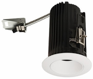 Elco E2L10FXXW Teak System Modern White LED 2 Inch  Recessed Lighting Round Reflector