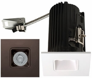 Elco E2L13FXXBZ Teak System Contemporary Bronze LED 2 Inch Recessed Lighting Square Reflector