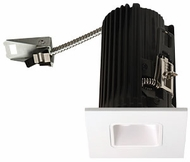 Elco E2L13W Teak System Contemporary White LED 2 Inch Recessed Lighting Square Reflector