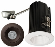 Elco E2L14FXXBZ Teak System Modern Bronze LED 2 Inch Recessed Lighting Round Baffle