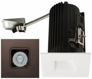 Elco E2L15FXXBZ Teak System Contemporary Bronze LED 2 Inch Recessed Lighting Square Baffle