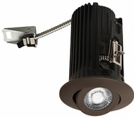 Elco E2L18FXXBZ Teak System Modern Bronze LED 2 Inch Recessed Lighting Round Adjustable