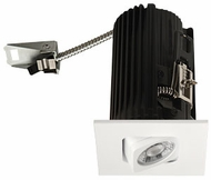 Elco E2L19W Teak System Contemporary White LED 2 Inch Recessed Lighting Square Adjustable