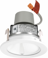 Elco E411R08 Cedar System Contemporary LED 4 inch Recessed Lighting Module & Driver with Wall Wash Reflector Trim