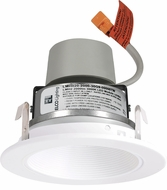 Elco E414R08 Cedar System Contemporary LED 4 inch Recessed Lighting Module & Driver with Baffle Trim