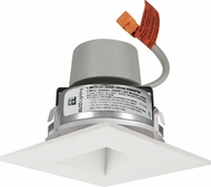 Elco E415R08 Cedar System Modern LED 4 inch Recessed Lighting Module & Driver with Square on Square Baffle Trim