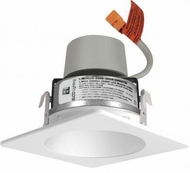 Elco E420R08 Cedar System Modern LED 4 inch Recessed Lighting Module & Driver with Square Reflector Trim