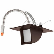 Elco E523L11XXBZ Contemporary Bronze 5  Adjustable Pull Down LED Light Engine Recessed Lighting