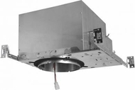 Elco E6LC20ICA Cedar System Contemporary 6 inch New Construction IC Airtight Recessed Lighting Housing w/Driver - 2000 Lumens