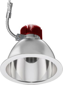 Elco E810L40 Laurel System Commercial Contemporary LED 8 Reflector LED Recessed Lighting Light Engine - 4000 Lumens