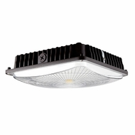 Elco ECP45M Dark Bronze LED Interior / Exterior 45 Watt Canopy Ceiling Light