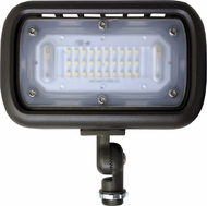 Elco EFL30SXXWFK Modern Dark Bronze LED Exterior Knuckle Mount Mini Flood Light Fixture