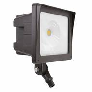 Elco EFL35M Dark Bronze LED Interior / Exterior 35 Watt Medium Floodlight