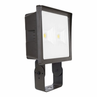 Elco EFL90L Dark Bronze LED Indoor / Outdoor 90 Watt Large Floodlight