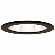 Elco EL1411BZ Contemporary Bronze 4  Adjustable Shower Recessed Lighting Trims With Clear Lens