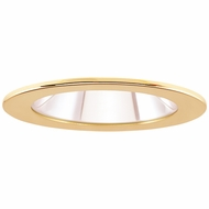 Elco EL1411G Modern Gold 4  Adjustable Shower Recessed Lighting Trims With Clear Lens